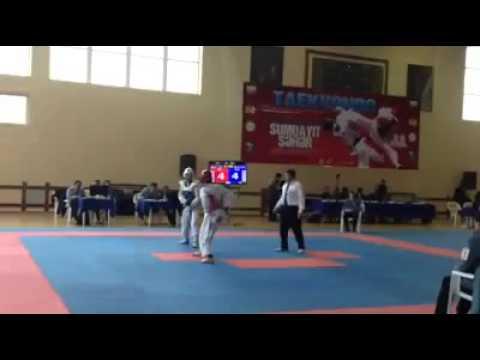 Nicat Farajov Azerbaijan Taekwondo (видео)