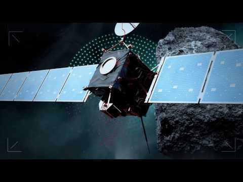 au esa european-space-agency rosetta rosetta-mission rosetta-spacecraft vangelis