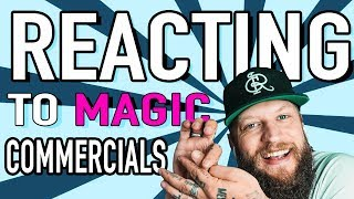 OFFICIAL MERCH!: https://teespring.com/stores/ramsays-shopLEARN A TRICK I CREATED HERE: https://sellfy.com/p/OiqQ/THE BEST ROYALTY FREE MUSIC FOR YOUTUBERS!!: https://goo.gl/IZraELYO! Welcome back! Today's Reacting to magic video focusses on the magic we see in Commercials! We'll also see an example of how Magicians have been giving away heavily guarded magic secrets long before the age of Youtube! ENJOY!SECRET LINK: http://amzn.to/2uf9n57CHECK OUT MY GAMING CHANNEL: https://www.youtube.com/channel/UCxR3TcpkooMIllA2b83kGAQ/featuredWhat I shoot with:My Main Camera: http://amzn.to/2l20aJsMain Lens: http://amzn.to/2lzpIeBMy Favorite LENS: http://amzn.to/2kQAJZmVLOG CAMERA :  http://amzn.to/2kQQwqKThe Mic I use: http://amzn.to/2kB3QBnLighting: http://amzn.to/2m16e3tEditing: Final Cut // Color FinaleFollow Me:Instagram: https://www.instagram.com/chrisramsay52Facebook: https://www.Facebook.com/deceivingisbelievingTwitter: https://www.twitter.com/chrisramsay52Website: https://www.chris-ramsay.comIF YOU WANT TO SEND ME STUFF:Chris RamsayCP 50011 BP. Galeries Des MontsSt-Sauveur, PQCanadaJ0R 1R0