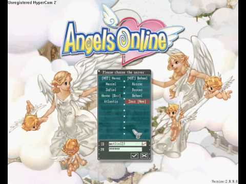 Angels Online GAMEPLAY + guide PL