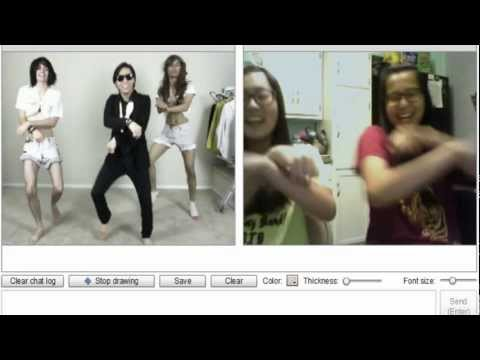 GANGNAM STYLE on CHATROULETTE