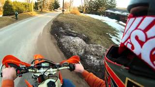 9. First Ride on the 2004 KTM 250EXC