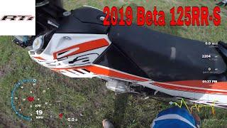5. Krista test rides a 2019 Beta 125RR-S !