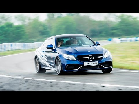 A day in the life of a professional stunt driver at Mercedes Benz world
