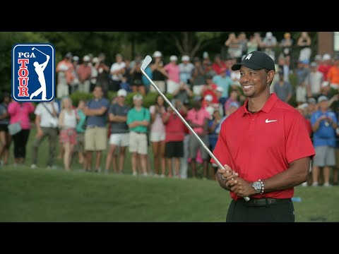 Tiger Woods' winning highlight …