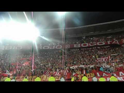 Disturbio Rojo Bogota- Miy8z (31/07/2013)/ Hoy volvimos a la cancha - Disturbio Rojo Bogotá - América de Cáli
