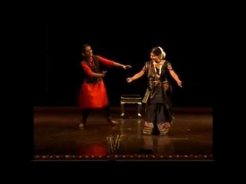 Guru Shovana Narayan & disciple Mrinalini dancing on Khusro's Riddles Part II