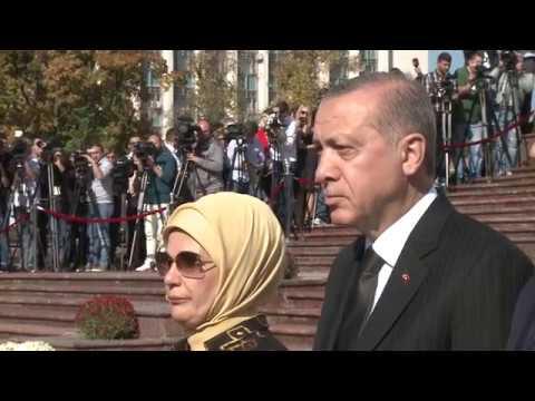 Президент Республики Молдова Игорь Додон встретился с Президентом Турции