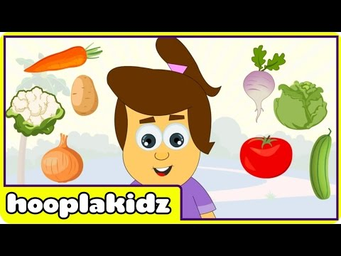 Learn About Vegetables - Interactive Learning Videos