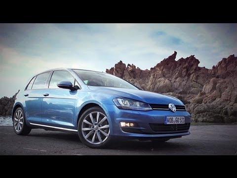 Volkswagen Golf 5D Тест-драйв Volkswagen Golf VII 2013 // АвтоВести 78