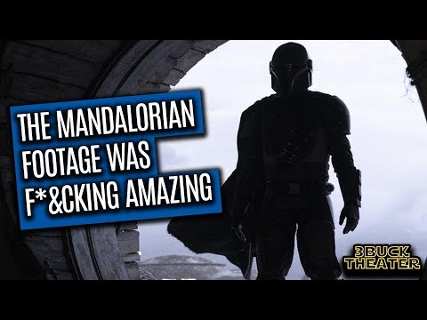THE MANDALORIAN LEAKED FOOTAGE WAS GREAT!!!