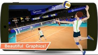 Volleyball Champions 3D 2014 videosu