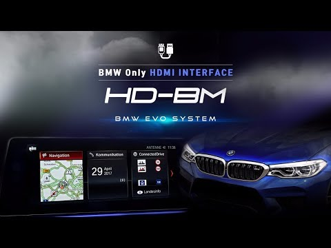 BMW HDMI INTERFACE FOR NBT EVO (G30 8.8inch)