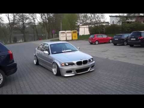 Stanced e46 328ci free exhaust