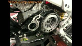 10. Remove DS 450 Clutch, Way # 1
