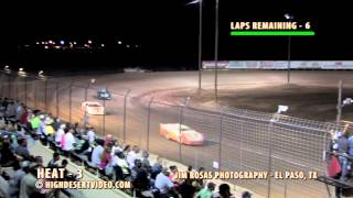 CDM Super Late Model Heat Race #3