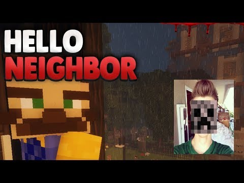Locky's BRUDER ?!😨 | Minecraft Hello Neighbor + FOTO von mir (видео)