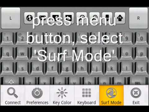Video of Blue Keyboard DEMO