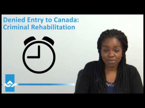 Canada Criminal Rehabilitation Video