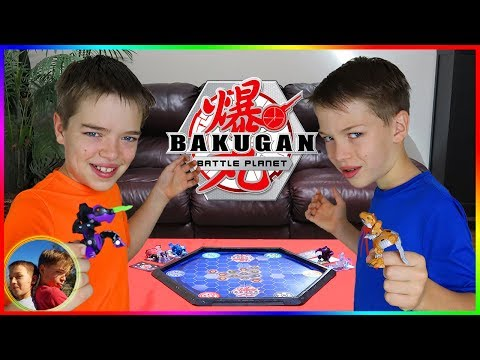 Bakugan Championship Tournament!  Family Bakugan Battle!