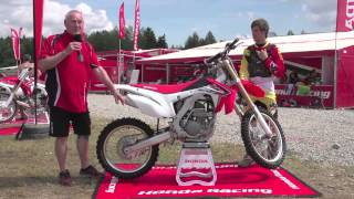 8. 2014 HONDA CRF250R TECH WALKTHROUGH