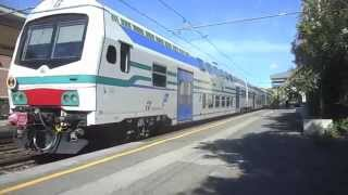 Chiavari Italy  City pictures : Trains at Chiavari, Italy, May 2015