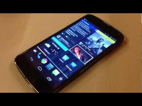 Updated Chameleon Launcher Showcased on Nexus 4 and Nexus 7