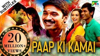 Paap Ki Kamai (HD) Full Hindi Dubbed Movie | Thanga Magan | Dhanush, Samantha, Amy Jackson