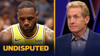 Skip Bayless: LeBron needs to go full MJ or Kobe and close games for the Lakers   NBA   UNDISPUTED