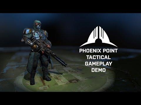 Phoenix Point Narrated Demo Gameplay (видео)