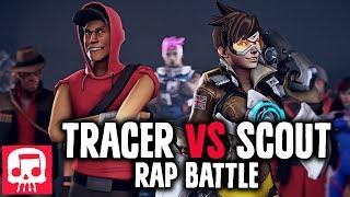 Video TRACER VS SCOUT Rap Battle by JT Music (Animated Version) MP3, 3GP, MP4, WEBM, AVI, FLV September 2018