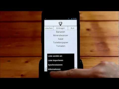 Video of Shopping List Lite