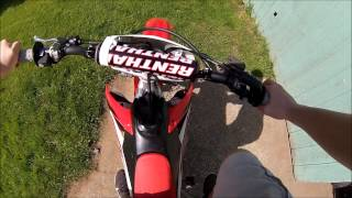 6. 2015 CRF450R Walk Around and Start Up