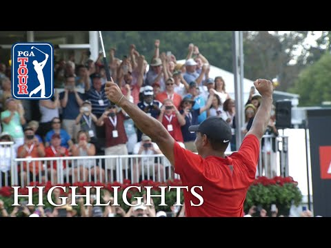 Tiger Woods' highlights | Roun …