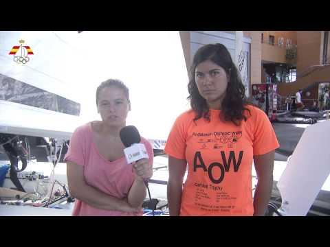 Saludo de Sofia Toro y Laura Sarasola desde Santander