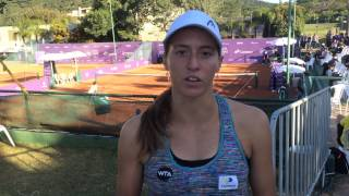 Luisa Stefani estreia contra Ana Bogdan no Brasil Tennis Cup