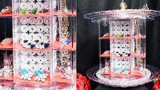 Dollar Tree DIY Jewelry Carousel