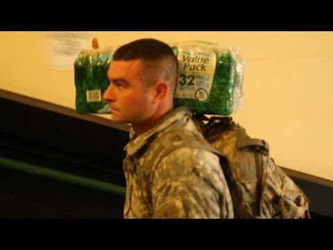 Hurricane Sandy Relief: National Guard Delivers Supplies to Stranded Senior Citizens