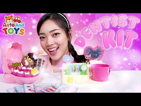 Tips Gigi Sehat dengan KONGSUNI Dentist Kit - Asta And Toys_Fogorvosi rendelőben. Heti legjobbak