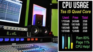 Video Reducing CPU Usage In Your DAW - Over 10 Different Ways MP3, 3GP, MP4, WEBM, AVI, FLV September 2018