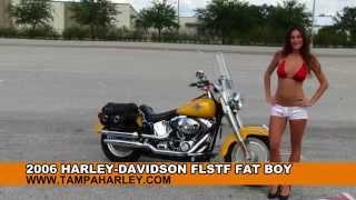 6. Used 2006 Harley-Davidson FLSTF Fat Boy Motorcycles for Sale