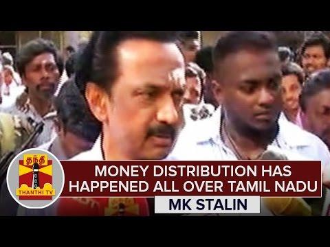 Money-Distribution-has-happened-all-over-TN--MK-Stalin-Thanthi-TV