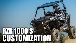 8. 2016 Polaris RZR S 1000 Customization
