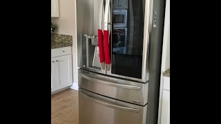 New LG Instaview French Door Door In Door Refrigerator Unboxing LMXS30796S