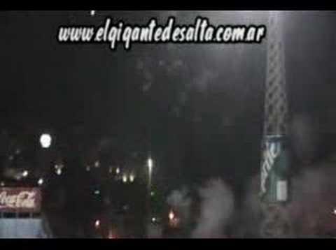 Gimnasia y Tiro (salida ante CN) - La Dale Albo - Gimnasia y Tiro