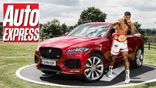 The Jaguar F-Pace - dream cars and boxing with Anthony Joshua