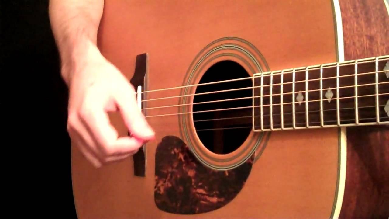 Percussive Acoustic Guitar Rhythms – Beginner Guitar Lesson