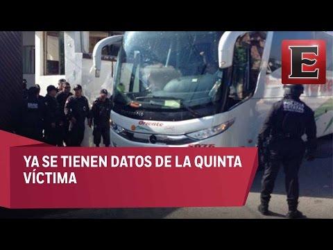 Solo falta localizar a la quinta víctima del autobús secuestrado en Tamaulipas