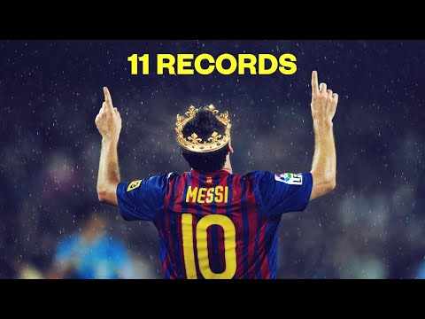 11 RIDICULOUS records that Lionel Messi broke this season | Oh My Goal