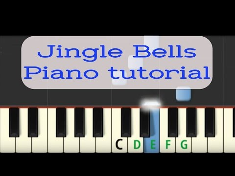 jingle bells (versione facilitata) al pianoforte: video tutorial.
